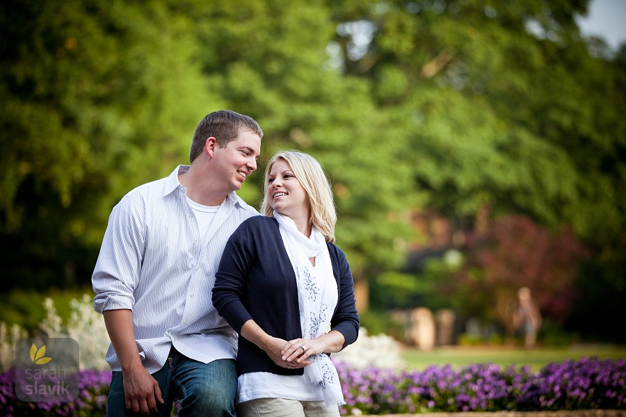 Engagement Photo in Athens, GA