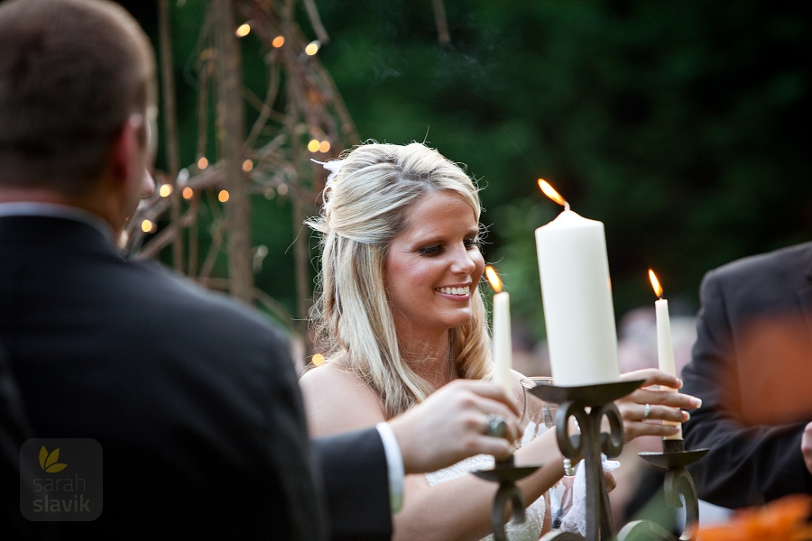 Bride and Unity Candles