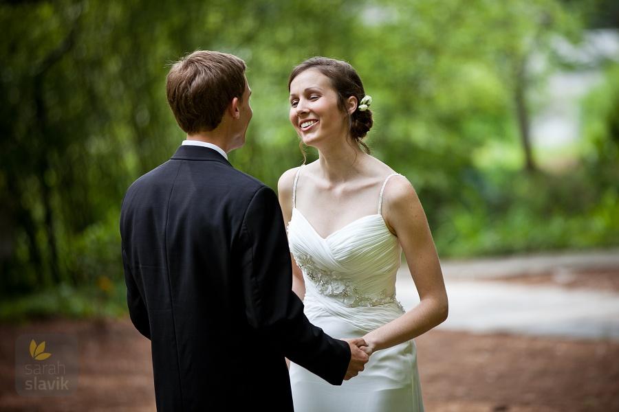Couple at Vines Botanical Garden