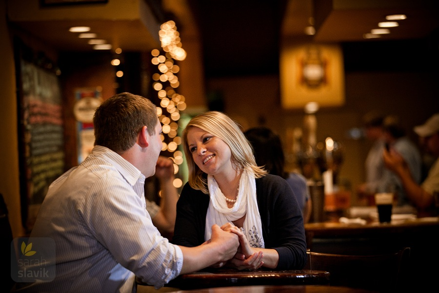 Couple in a Pub in Athens, GA