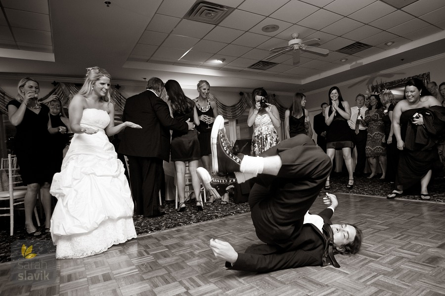 Dancing at a Wedding