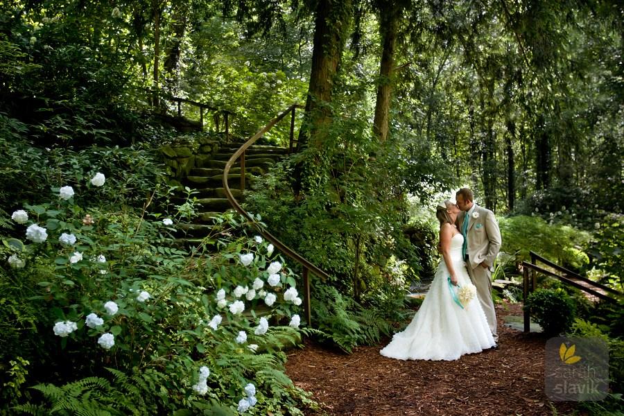 Dunaway Gardens wedding portrait