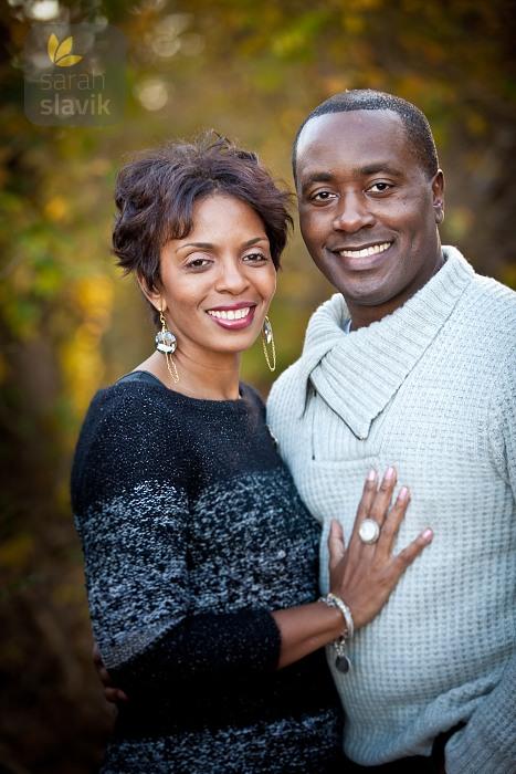 Formal Engagement Portrait
