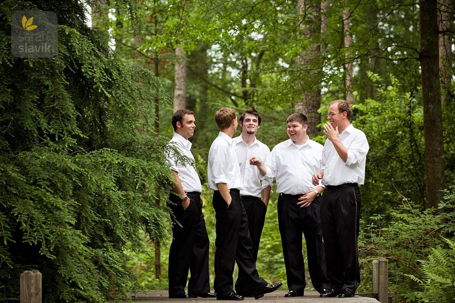 Groomsmen Vines Botanical Garden