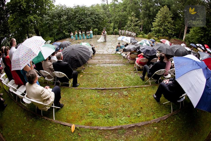 wedding at Dunaway Gardens