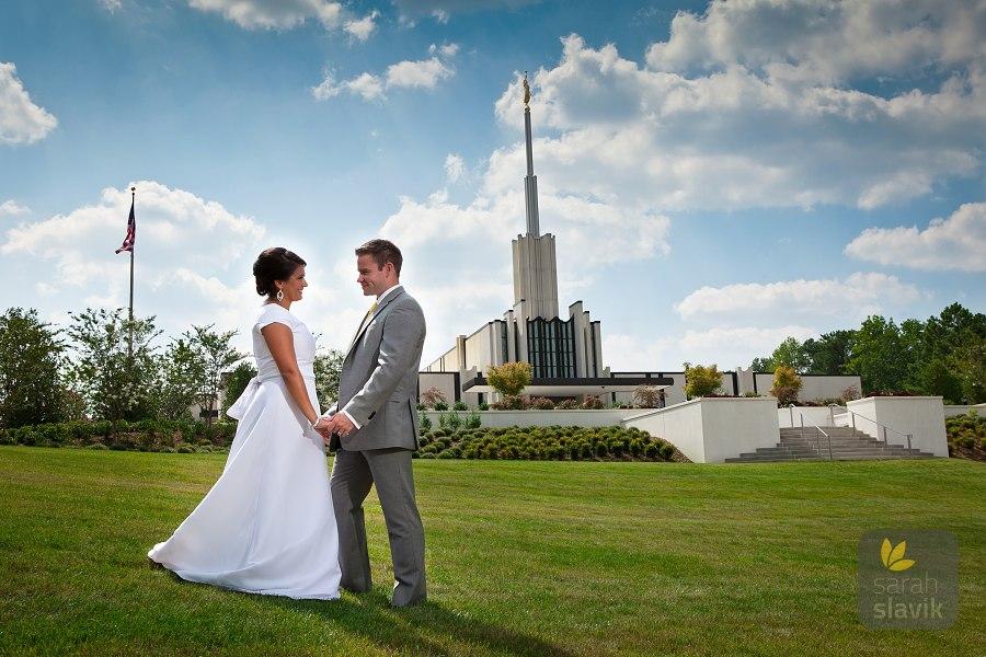 Atlanta LDS Temple Wedding