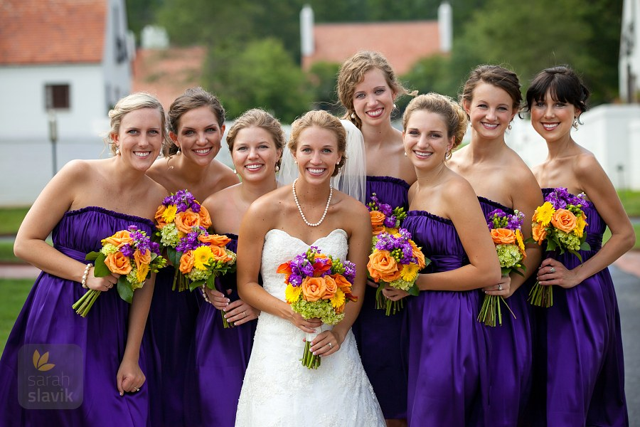 Bridesmaids at Berry College