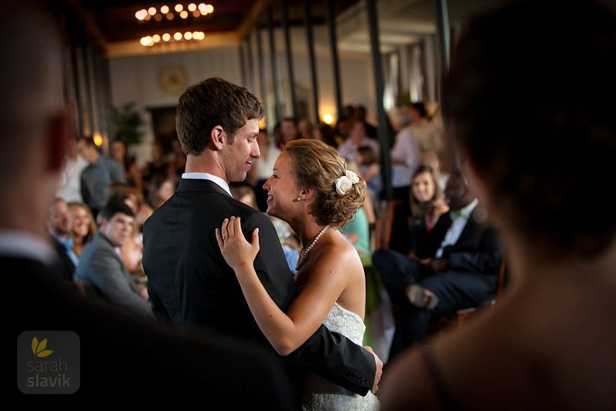 Berry College wedding couple