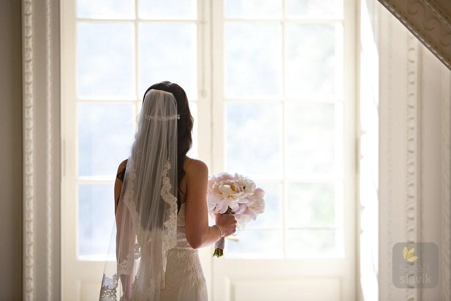 Bride anticipating