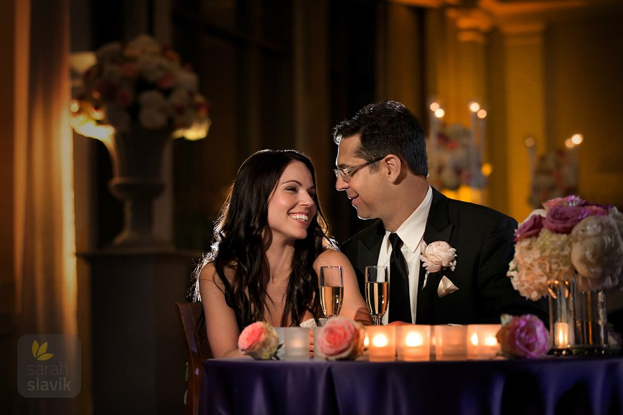 Couple with candles
