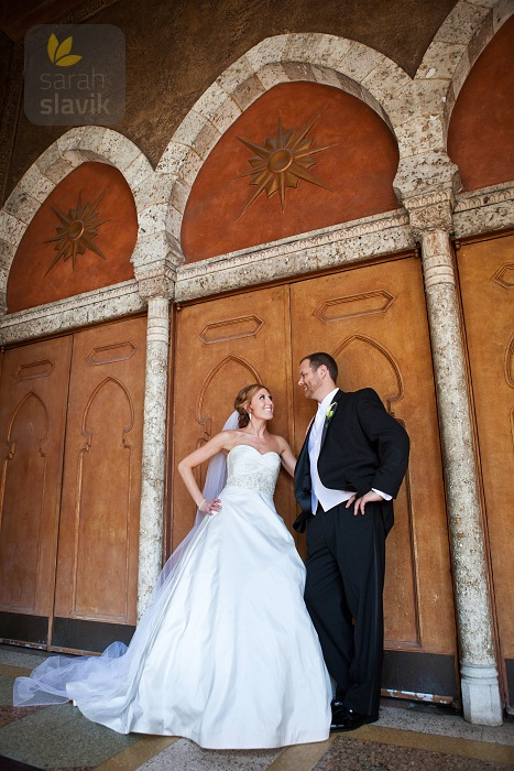 Fox Theatre Atlanta Wedding Portrait