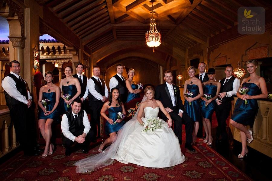 Fox Theatre Wedding Party