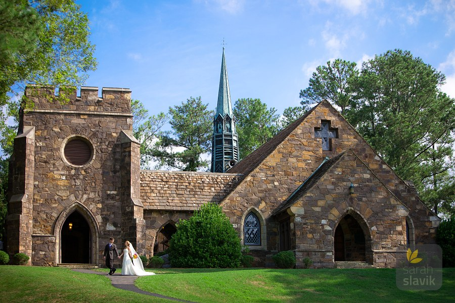 Frost Chapel wedding
