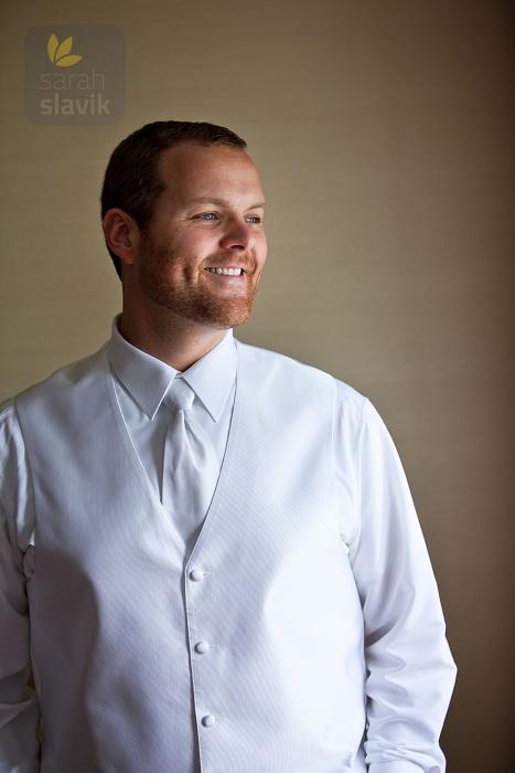 Groom in a White Vest