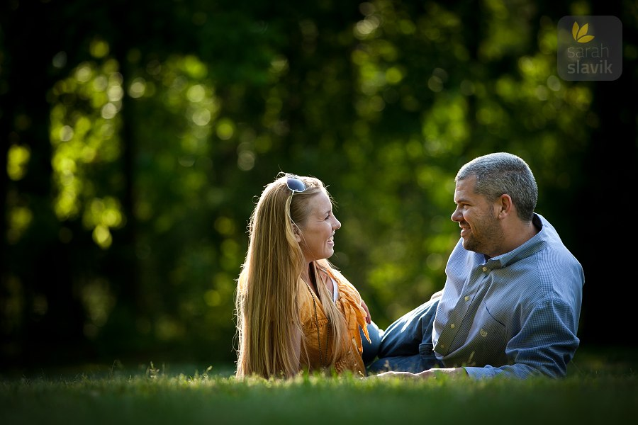 Kennesaw Engagement Portrait