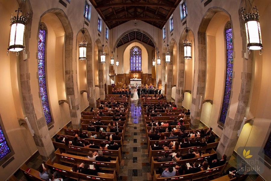 Lutheran Church of the Redeemer wedding