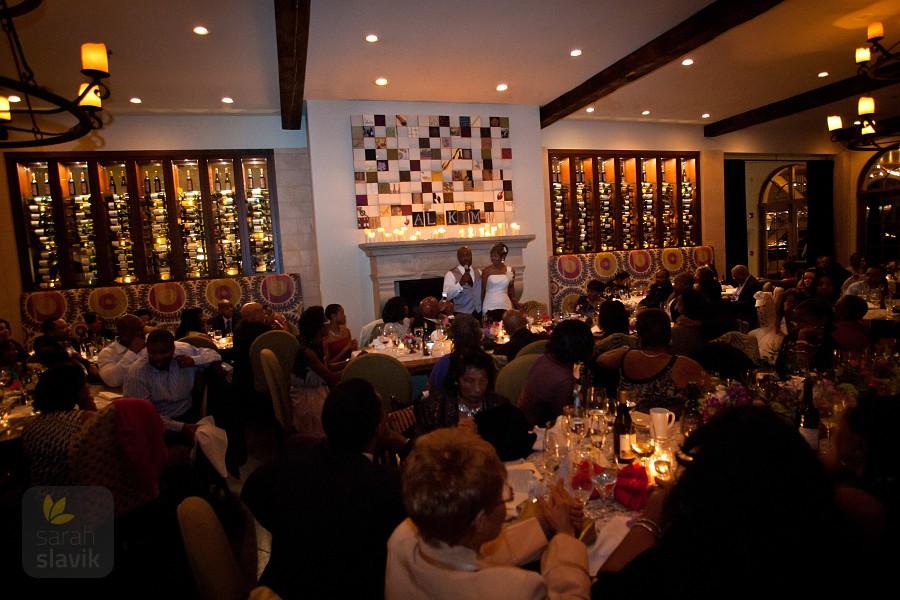 Montaluce Winery Reception