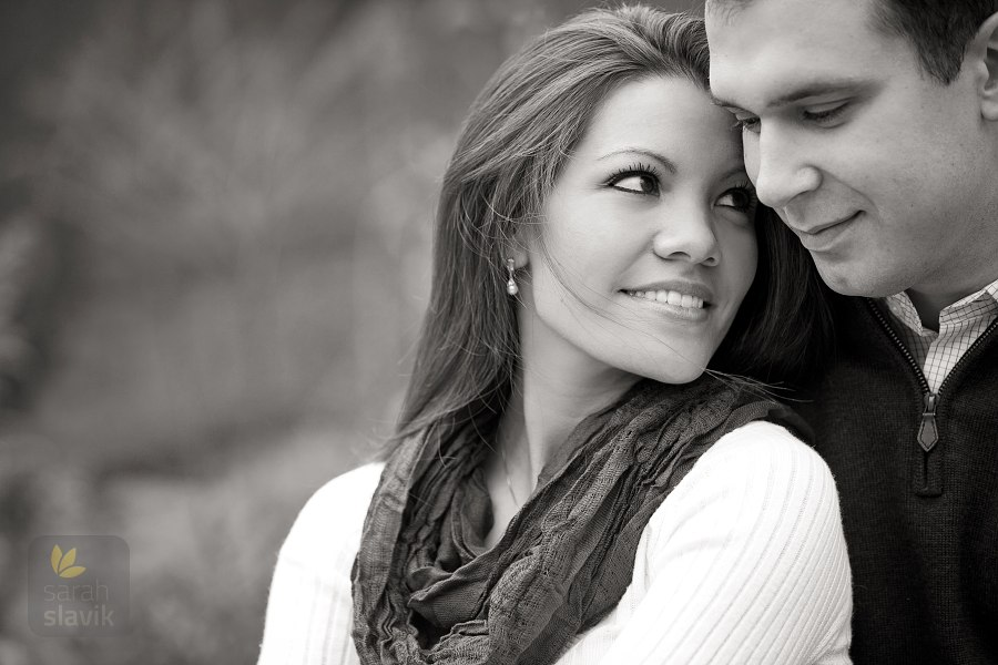Engagement portrait in Roswell, GA