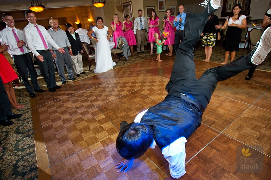 Wedding break dance