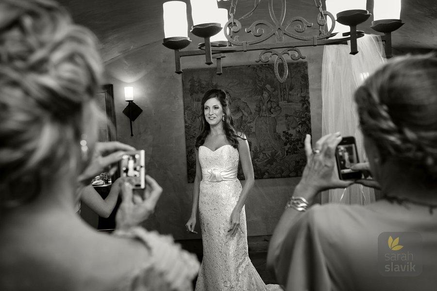 Bride's snapshots
