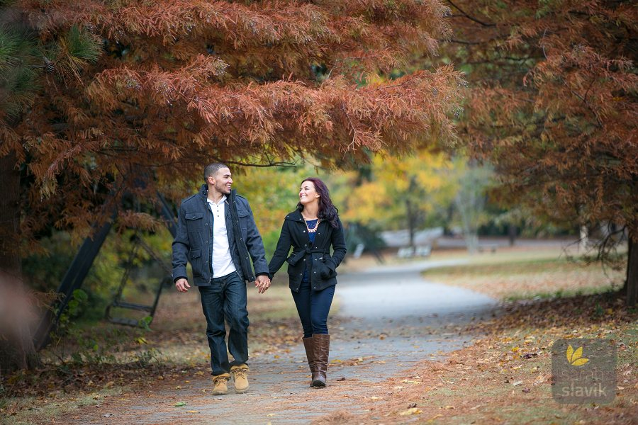 Pidmont Park Atlanta Engagement Photo