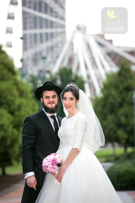 Orthodox Jewish couple