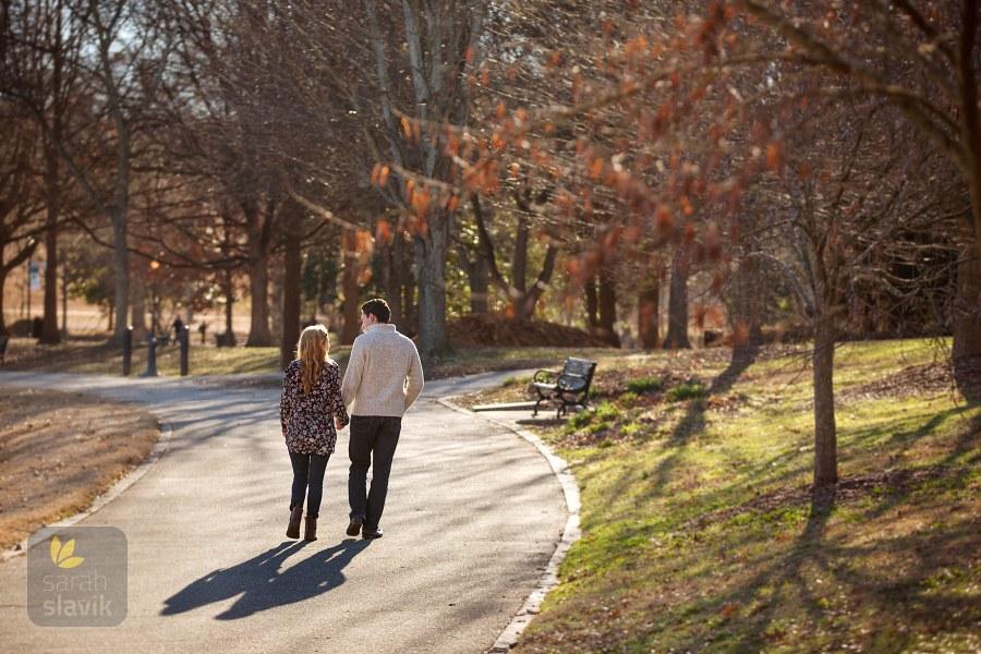 January Engagement Portraits in Piedmont Park « Sarah Slavik