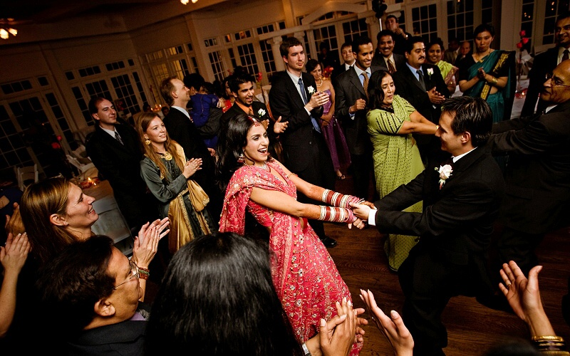 Indian Wedding Reception By Sarah Slavik Photography